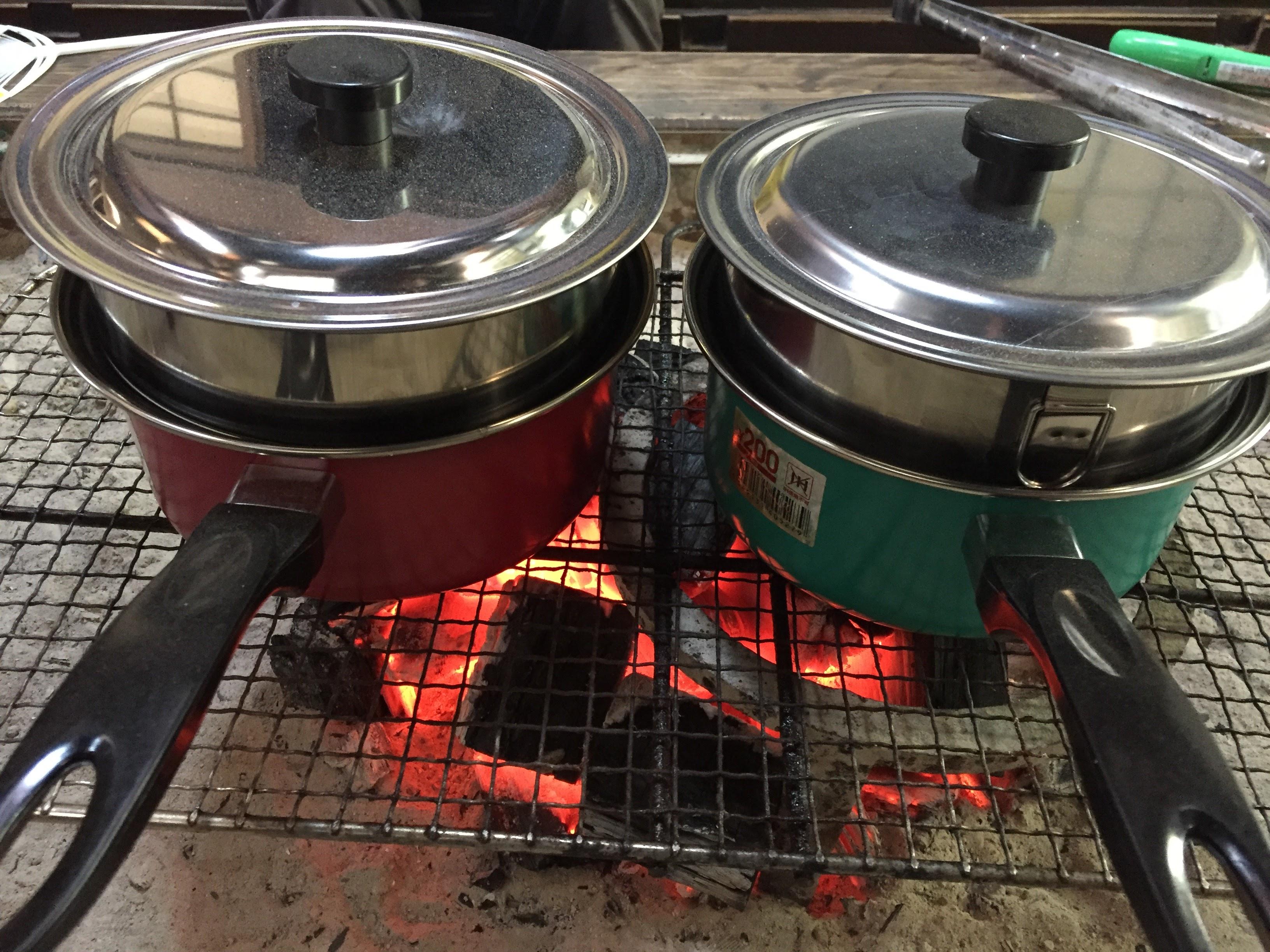 100均でつくる簡単燻製器と岩泉切炭を使ってリーズナブルでリッチな燻製実験してみた。