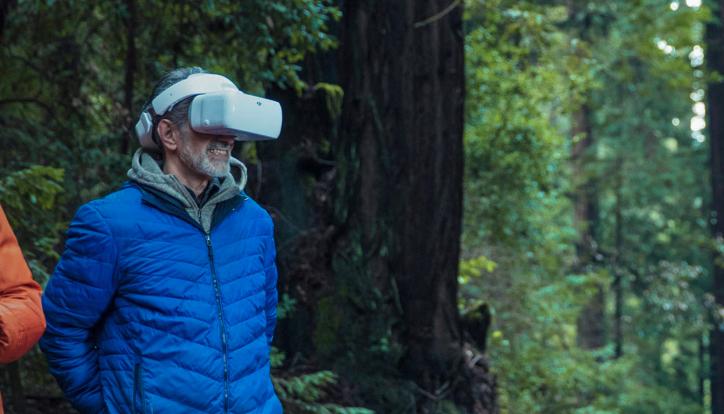 ドローンとDJIGogglesを活用して林業の現場をリアルタイムに体験できないだろうか