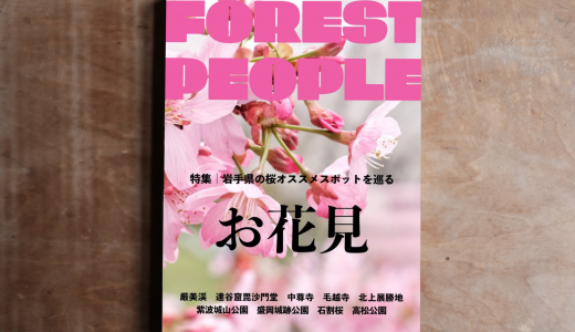インスタ映え必須!!岩手県の桜・お花見オススメスポット9ヶ所を巡る。