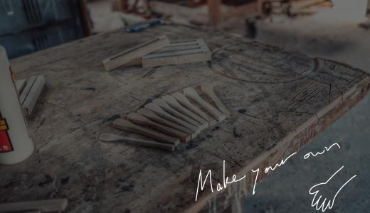 Make Your Own〜自分で作ったモノに囲まれた食卓を目指して。